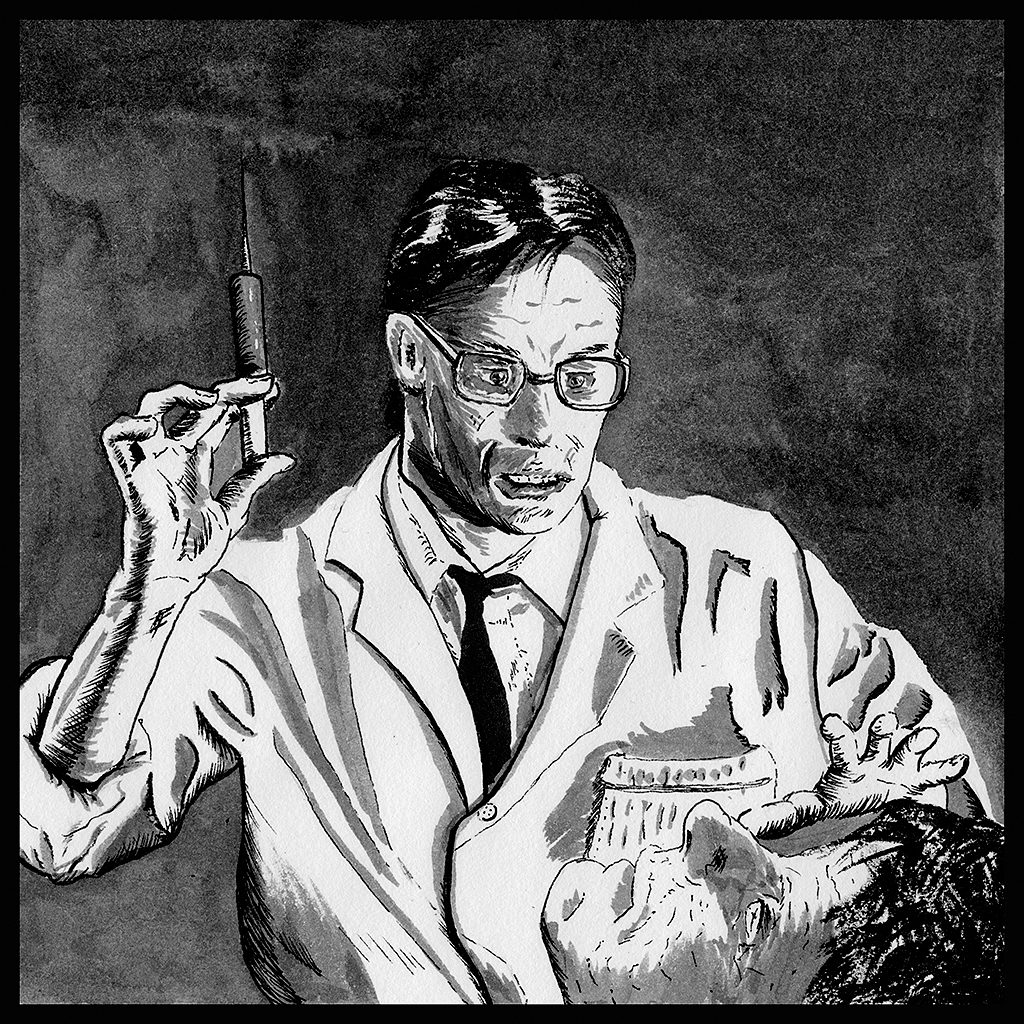 Re-animator in Ink