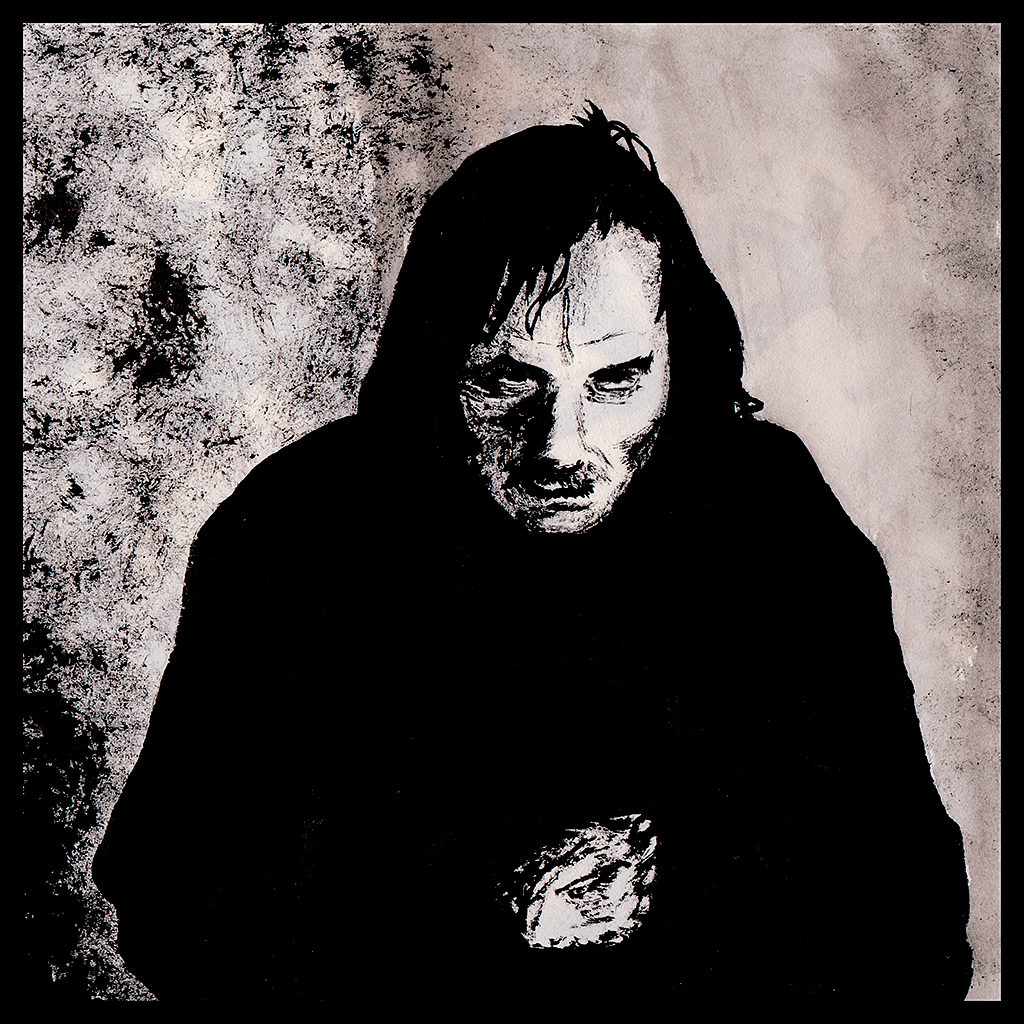 Jack Torrance from the Shining in Ink